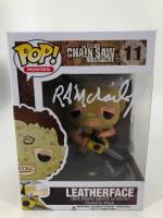 "R. A. Mihailoff Signed ""The Texas Chain Saw Massacre"" #11 Leatherface Funko Pop! Vinyl Figure (JSA COA) at PristineAuction.com"