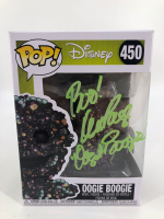 "Ken Page Signed ""The Nightmare Before Christmas"" - Oogie Boogie #450 Funko Pop! Vinyl Figure Inscribed ""Boo!"" & ""Oogie Boogie"" (JSA COA & PA COA) at PristineAuction.com"