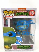 "Kevin Eastman Signed ""Teenage Mutant Ninja Turtles"" #16 Leonardo Funko Pop! Vinyl Figure with Hand Drawn Sketch (JSA COA) at PristineAuction.com"