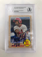 Randy Arozarena Signed 2017 Topps Heritage Minors #146 (BGS Encapsulated) at PristineAuction.com