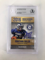Jonathan Taylor Signed 2016 Rookie Phenoms #23 (BGS Encapsulated) at PristineAuction.com