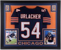 Brian Urlacher Signed 35x43 Custom Framed Jersey (Beckett COA) at PristineAuction.com