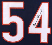 Brian Urlacher Signed 35x43 Custom Framed Jersey Display (Beckett COA) at PristineAuction.com