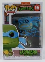 "Kevin Eastman Signed ""Teenage Mutant Ninja Turtles"" #16 Leonardo Funko Pop! Vinyl Figure with Hand Drawn Sketch (PSA COA) at PristineAuction.com"