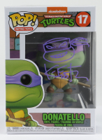 "Kevin Eastman Signed ""Teenage Mutant Ninja Turtles"" #17 Donatello Funko Pop! Vinyl Figure with Hand Drawn Sketch (PSA COA) at PristineAuction.com"