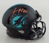Xavien Howard Signed Dolphins Eclipse Alternate Speed Mini Helmet (JSA COA) at PristineAuction.com