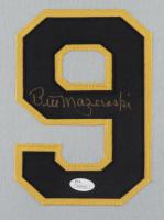 Bill Mazeroski Signed 35x43 Custom Framed Jersey (JSA COA) at PristineAuction.com