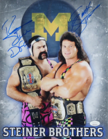 Scott Steiner & Rick Steiner Signed 11x14 Photo (JSA COA) at PristineAuction.com