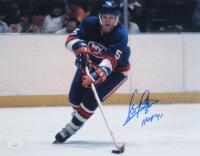 "Denis Potvin Signed Islanders 11x14 Photo Inscribed ""HOF 91"" (JSA COA) at PristineAuction.com"