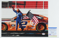 Brad Keselowski Signed NASCAR 11x14 Photo (PSA COA) at PristineAuction.com