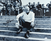 Jack Nicklaus Signed 16x20 Canvas Photo (JSA LOA) at PristineAuction.com