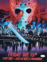 "Kane Hodder Signed ""Friday the 13th Part VIII: Jason Takes Manhattan"" 11x14 Photo Inscribed ""Jason"" (JSA COA) at PristineAuction.com"