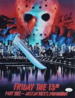 "Kane Hodder Signed ""Friday the 13th Part VIII: Jason Takes Manhattan"" 11x14 Photo Inscribed ""Jason"" (JSA COA) at PristineAuction.com"