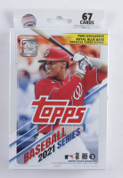 2021 Topps Baseball Series 1 Hanger Box of (67) Cards at PristineAuction.com