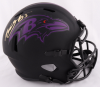 Willis McGahee Signed Ravens Full-Size Eclipse Alternate Speed Helmet (JSA COA) at PristineAuction.com