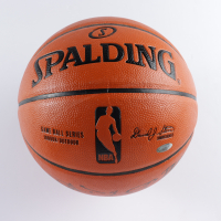 Patrick Ewing & Bernard King Signed NBA Game Ball Series Basketball (Steiner COA) at PristineAuction.com