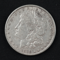 1878 Morgan Silver Dollar Seven Tailfeathers Reverse of 78 at PristineAuction.com