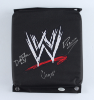 Deuce, Cherry & Domino Signed WWE Turnbuckle Pad (JSA COA) at PristineAuction.com