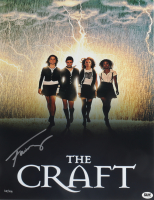 "Fairuza Balk LE Signed ""The Craft"" 11x14 Photo (Bam! Hologram) at PristineAuction.com"