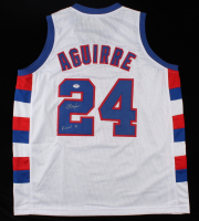 """Mark Aguirre Signed Jersey Inscribed """"Final 4"""" (PSA COA) (See Description) at PristineAuction.com"""