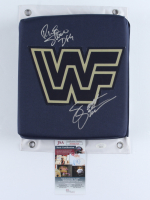 The Steiner Brothers Signed WWE Turnbuckle Pad (JSA COA) at PristineAuction.com