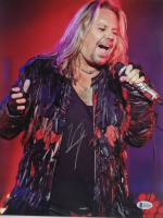 "Vince Neil Signed ""Motley Crue"" 11x14 Photo (Beckett Hologram) at PristineAuction.com"