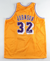 Magic Johnson Signed Jersey (Steiner COA) at PristineAuction.com