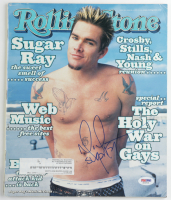 "Mark McGrath Signed 1999 Rolling Stone Magazine Inscribed ""Sugar Ray"" (PSA Hologram) (See Description) at PristineAuction.com"