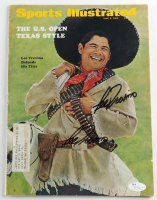 Lee Trevino Twice-Signed 1969 Sports Illustrated Magazine (JSA COA) at PristineAuction.com