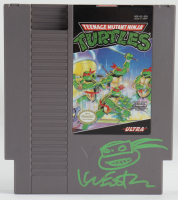 Kevin Eastman Signed Original 1985 Teenage Mutant Ninja Turtles Nintendo NES Video Game with Hand-Drawn Turtle Sketch (PA COA) at PristineAuction.com