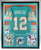 Bob Griese Signed 35x43 Custom Framed Jersey (JSA Hologram) at PristineAuction.com