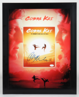 "Ralph Macchio Signed ""The Karate Kid"" 18.5x22.5 Custom Framed Photo Display (ACOA COA) (See Description) at PristineAuction.com"
