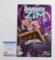"Rodger Bumpass Signed Issue #14 Invader Zim Comic Book Inscribed ""Professor Membrane"" (PSA COA) at PristineAuction.com"