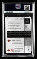 Kawhi Leonard 2011-12 SP Authentic #27 (PSA 10) at PristineAuction.com