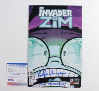 "Rodger Bumpass Signed Issue #13 Invader Zim Comic Book Inscribed ""Professor Membrane"" (PSA COA) at PristineAuction.com"