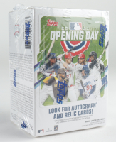 2021 Topps Opening Day Baseball Blaster Box with (11) Packs at PristineAuction.com