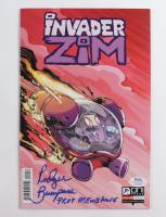 "Rodger Bumpass Signed Issue #10 Invader Zim Comic Book Inscribed ""Professor Membrane"" (PSA COA) at PristineAuction.com"