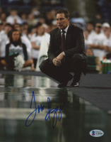 Tom Izzo Signed Michigan State Spartans 8x10 Photo (Beckett COA) at PristineAuction.com