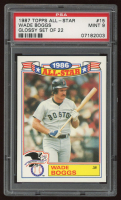 Wade Boggs 1987 Topps Glossy All-Stars #15 (PSA 9) at PristineAuction.com