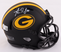 Aaron Jones Signed Packers Eclipse Alternate Speed Mini Helmet (Beckett Hologram) at PristineAuction.com