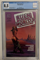 "Vintage 1982 ""Alien Worlds"" Issue #1 Pacific Comic Book (CGC 8.5) at PristineAuction.com"