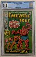 "Vintage 1971 ""Fantastic Four"" Issue #107 Marvel Comic Book (CGC 5.5) at PristineAuction.com"
