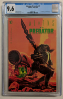 "Vintage 1990 ""Alien vs. Predator"" Issue #1 Comic Book (CGC 9.6) at PristineAuction.com"
