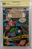 "Neal Adams signed 1968 ""Action Comics"" Issue #370 DC Comic Book (CBCS Encapsulated - 6.0) at PristineAuction.com"