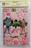 "Neal Adams signed 1968 ""Batman"" Issue #200 DC Comic Book (CBCS Encapsulated - 4.5) at PristineAuction.com"