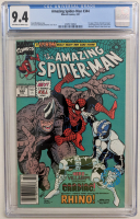 "1991 ""The Amazing Spider-Man"" Issue #344 Marvel Comic Book (CGC 9.4) at PristineAuction.com"