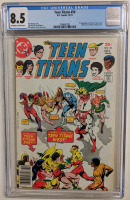 """1977 """"Teen Titans"""" Issue #50 DC Comic Book (CGC 8.5) at PristineAuction.com"""