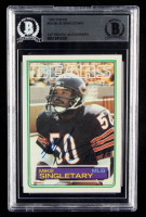 "Mike Singletary Signed 1983 Topps #38 RC Inscribed ""HOF 98"" (BGS Encapsulated) at PristineAuction.com"