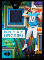 Justin Herbert 2020 Panini Illusions Great Expectations #GE3 at PristineAuction.com