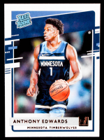 Anthony Edwards 2020-21 Donruss #201 RR RC at PristineAuction.com
